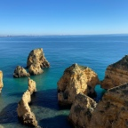 Algarve, Benagil grotto, in feburary